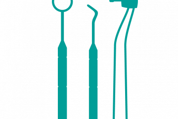 Graphic of dentistry tools