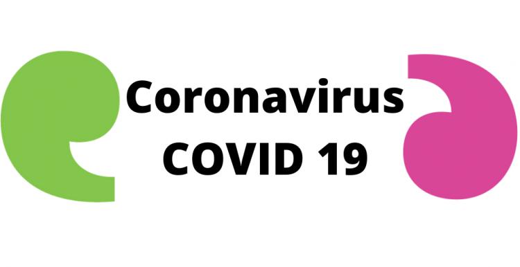 Graphic - Coronavirus with Healthwatch apostrophe