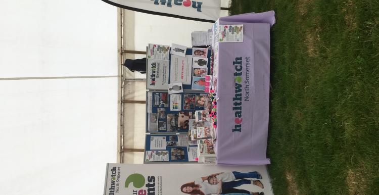 Stand at the North Somerset Show