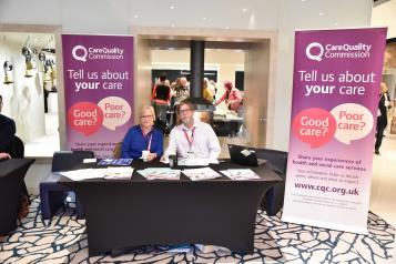 Care Quality Commission stand at fair
