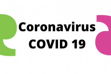 Graphic - Coronavirus with Healthwatch apostrophe
