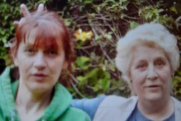 Julie and mum