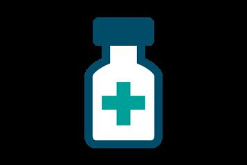 Bottle of prescription medications