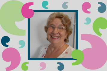 Anne Skinner - our Volunteer