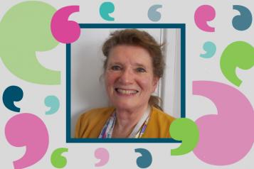 Patrica Godfrey - our volunteer