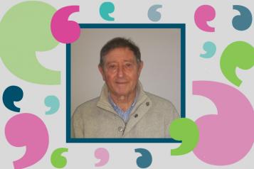 Terry Williamson - our volunteer
