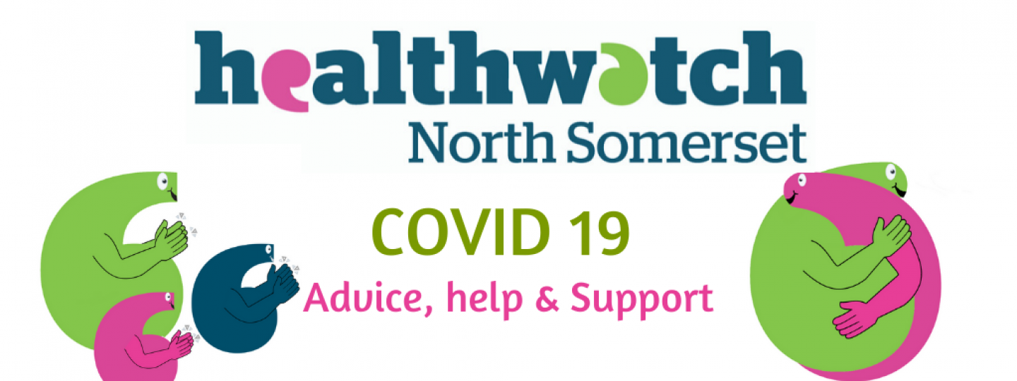 Graphic healthwatch offering help, support and advice